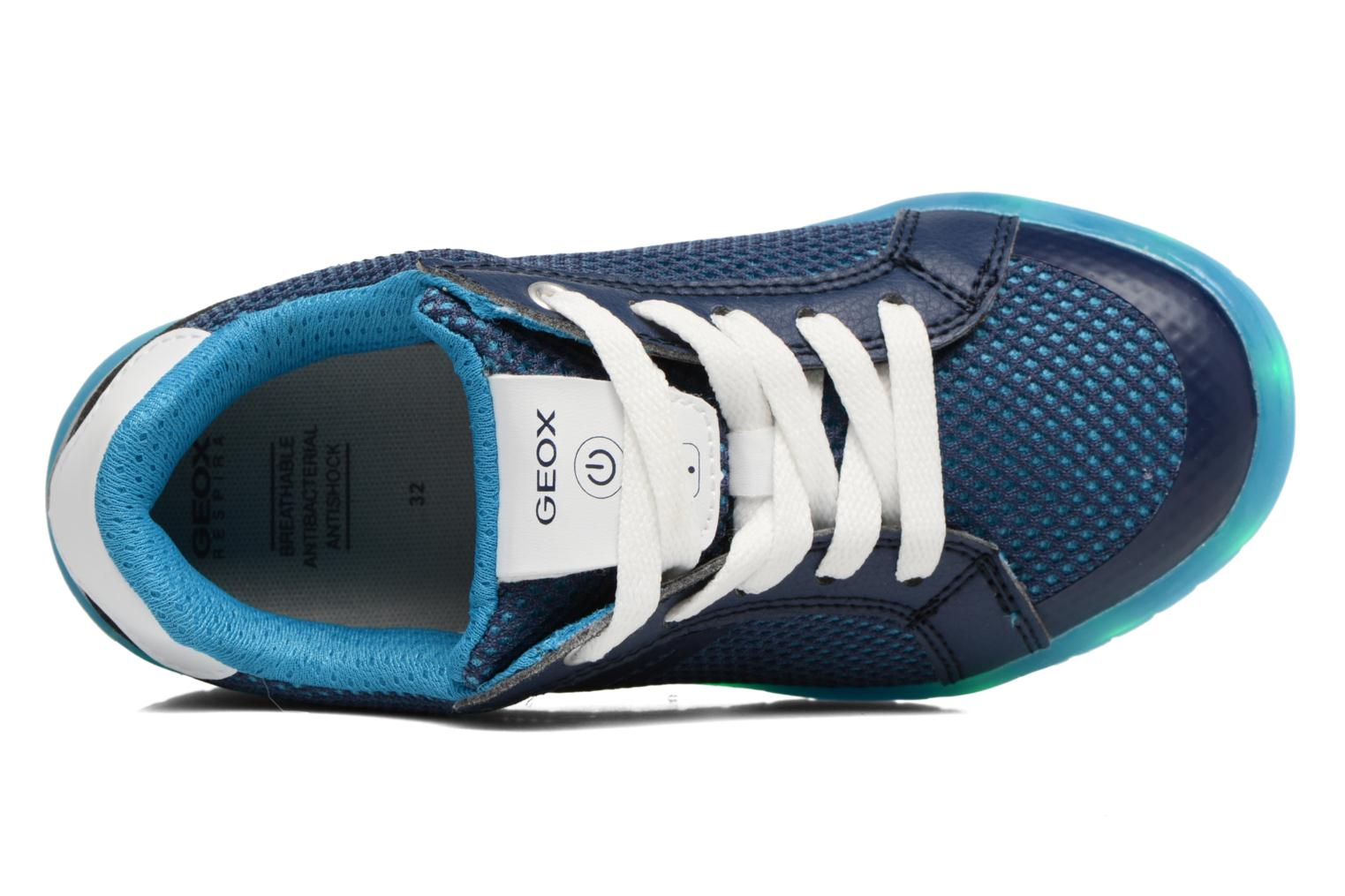 Sneakers Geox J Kommodor B.A J825Pa Blauw links