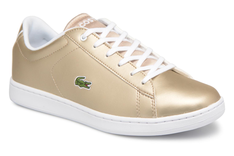 Zapatos promocionales Lacoste CARNABY EVO 218 1 (Oro y bronce) - Deportivas   Venta de liquidación de temporada