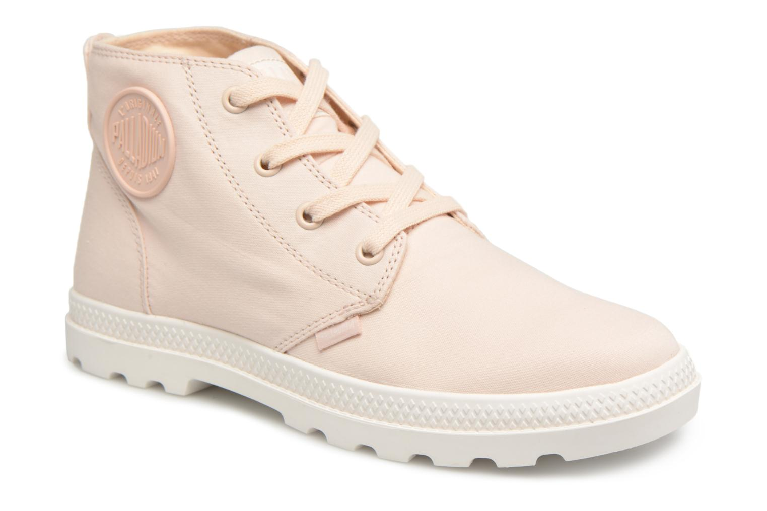Palladium Pampa Free Cvsw (Rose) - Baskets chez Sarenza (323499)