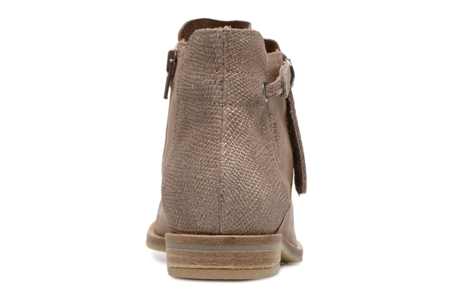 Bottines et boots P-L-D-M By Palladium Stila Mix Beige vue droite