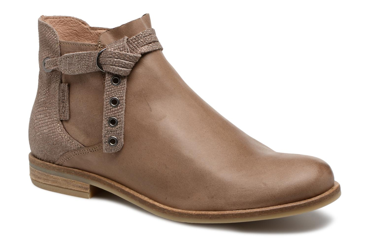 Bottines et boots P-L-D-M By Palladium Stila Mix Beige vue détail/paire