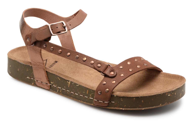 Zapatos promocionales P-L-D-M By Palladium Wooki Nat (Marrón) - Sandalias   Zapatos casuales salvajes