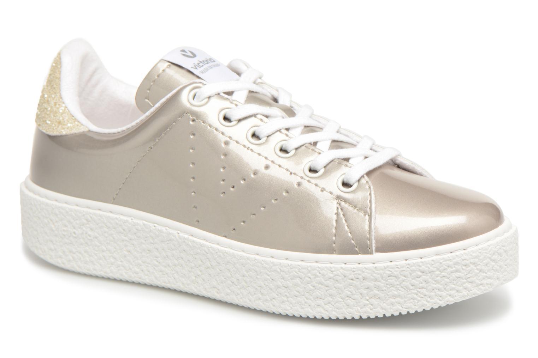 Nuevos zapatos para hombres y mujeres, descuento por tiempo limitado Victoria Deportivo Charol 2 (Gris) - Deportivas en Más cómodo