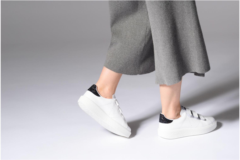 Sneakers Victoria Deportivo Piel Velcros Zwart onder