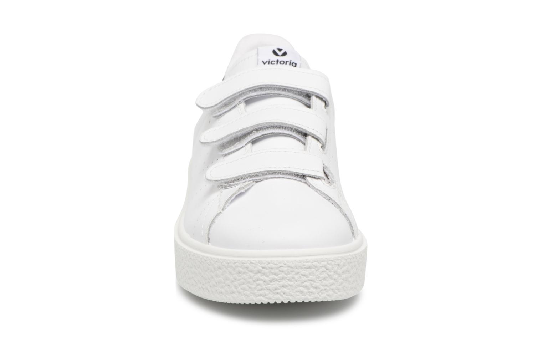 Sneakers Victoria Deportivo Piel Velcros Zwart model
