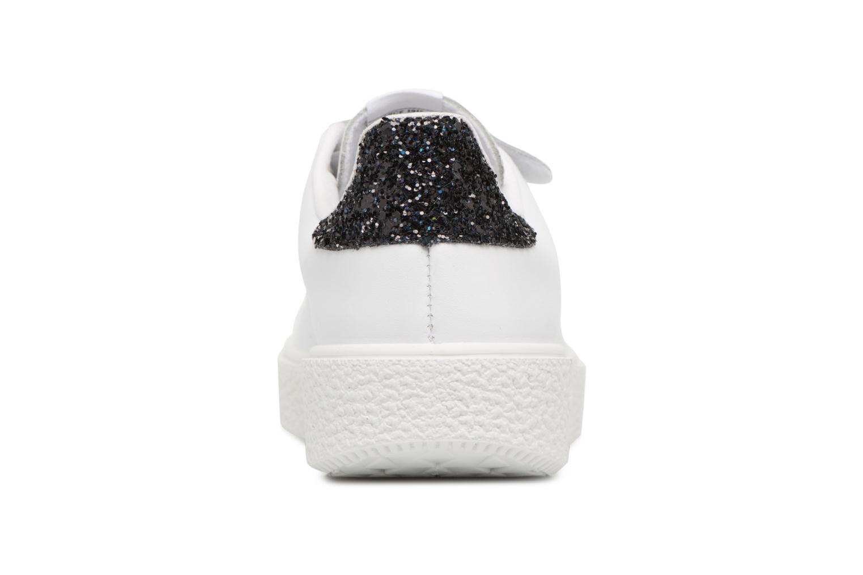 Sneakers Victoria Deportivo Piel Velcros Zwart rechts