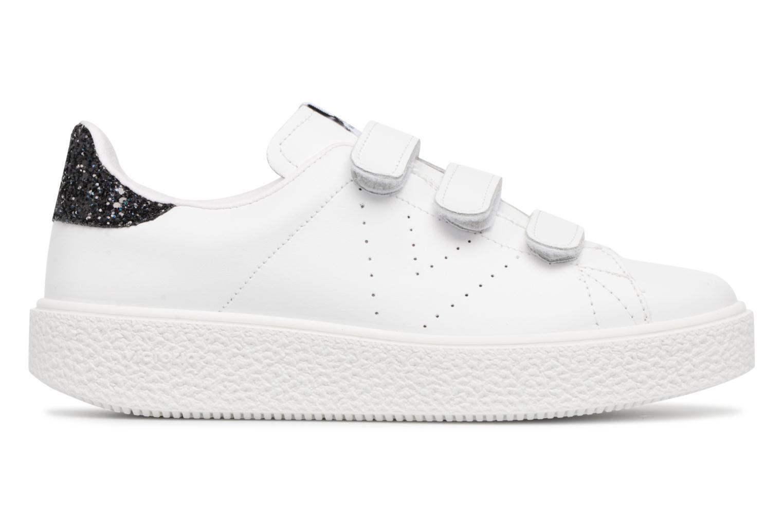 Sneakers Victoria Deportivo Piel Velcros Zwart achterkant