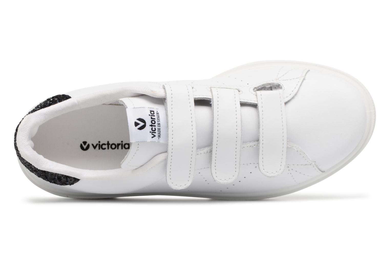 Sneakers Victoria Deportivo Piel Velcros Zwart links