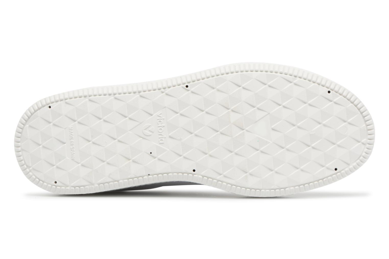 Sneakers Victoria Deportivo Piel Velcros Zwart boven