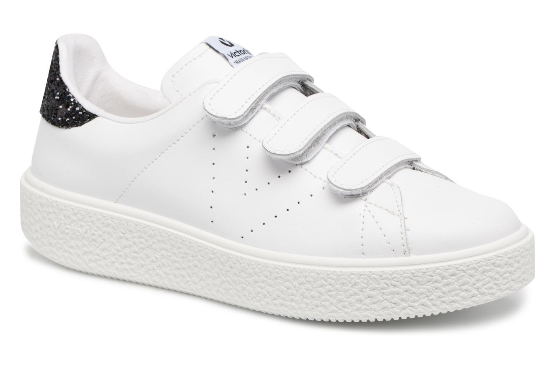 Sneakers Victoria Deportivo Piel Velcros Zwart detail