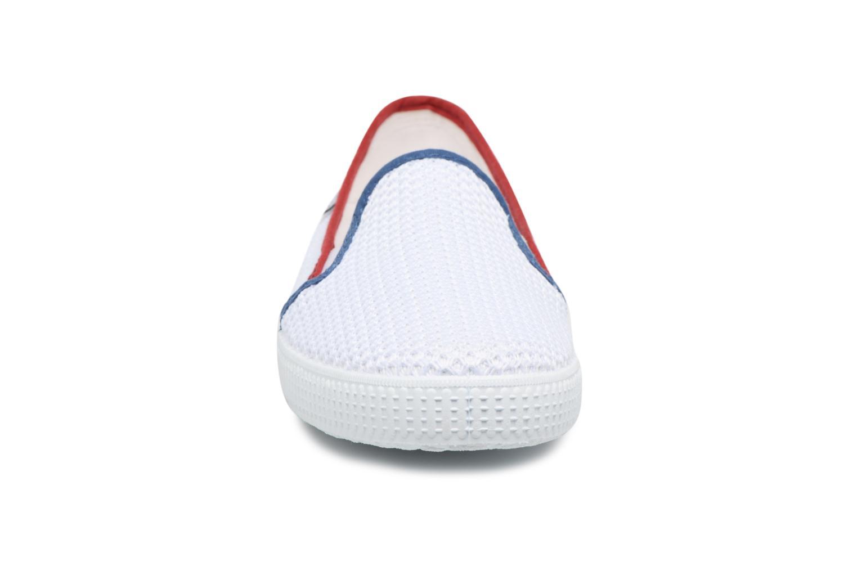 Slip Rejilla Tricolor On Blanco Victoria P6A7qwB