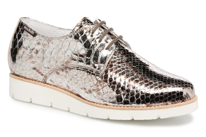Grandes descuentos últimos zapatos Mephisto Aurelie (Plateado) - Zapatos con cordones Descuento