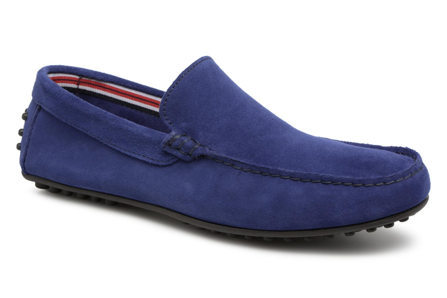 Loafers Marvin&co Suttino Blue detailed view/ Pair view