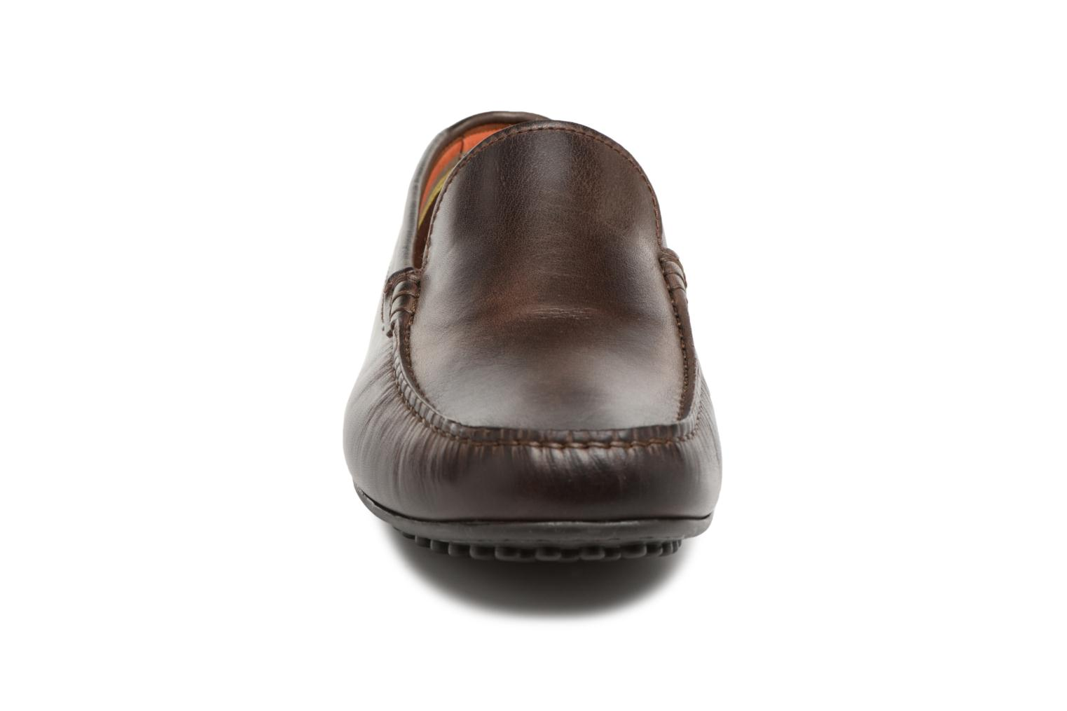 Loafers Marvin&co Suttino Cuir Lisse Brown model view