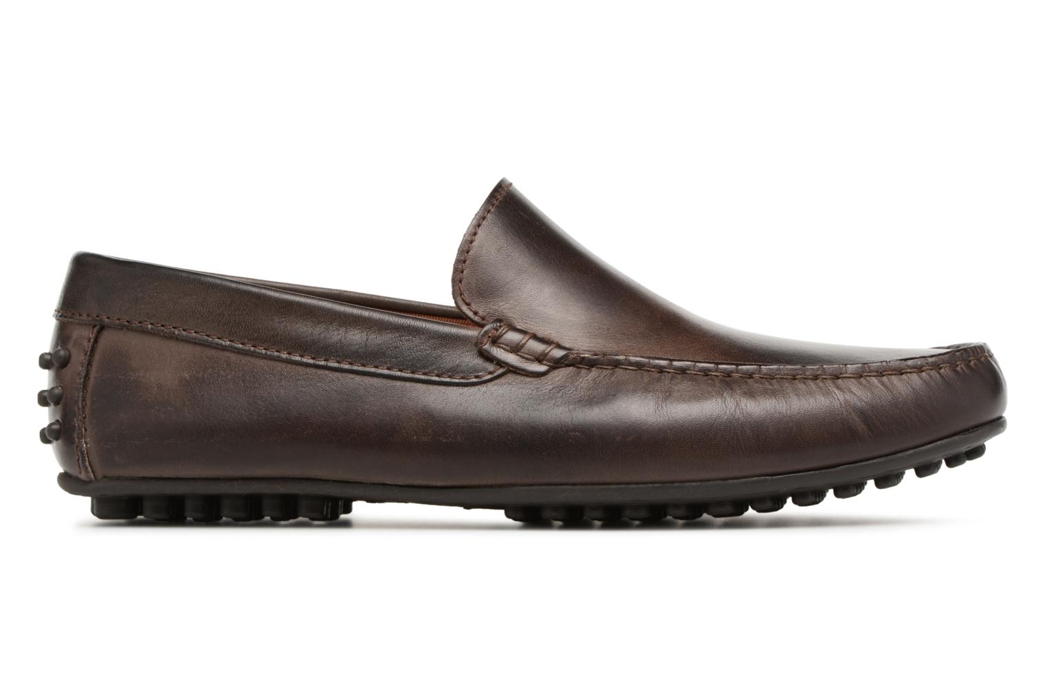Loafers Marvin&co Suttino Cuir Lisse Brown back view