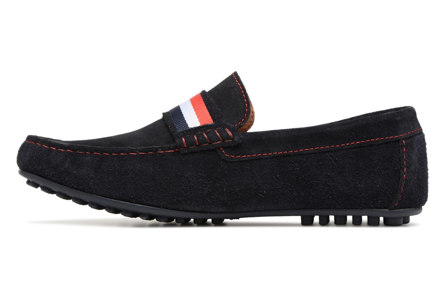 Loafers Marvin&co Spat Blue front view