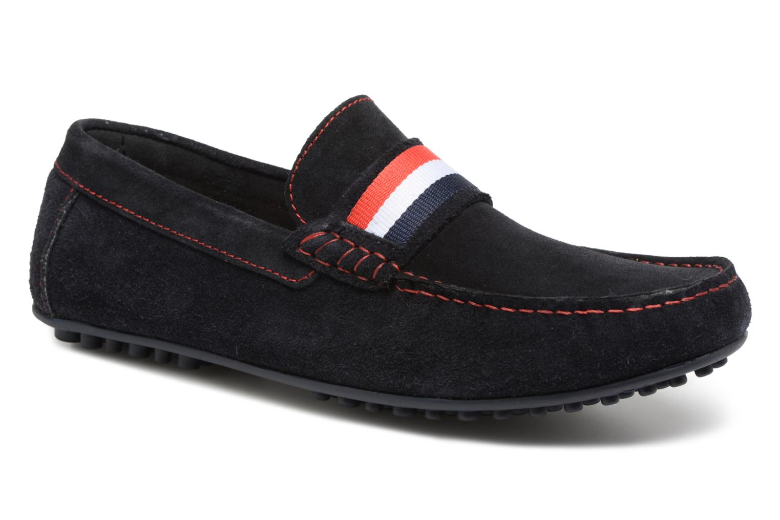 Loafers Marvin&co Spat Blue detailed view/ Pair view