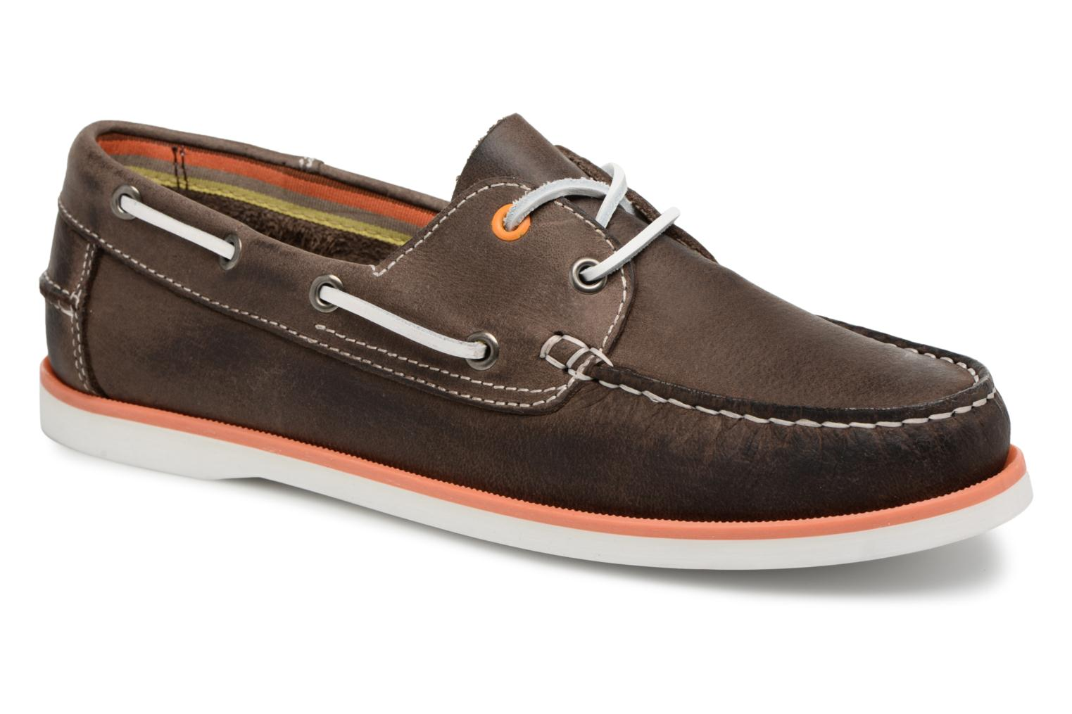 Lace-up shoes Marvin&co Sailboat Brown detailed view/ Pair view