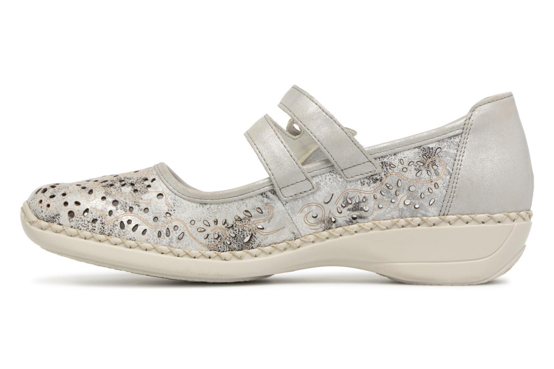 Zapatos promocionales Rieker Doris 41372 2 (Gris) - Bailarinas   Los zapatos más populares para hombres y mujeres