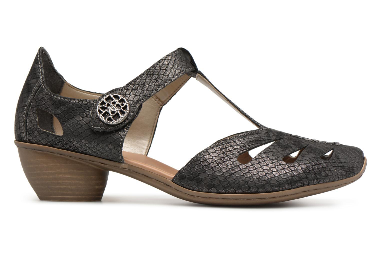 on sale 21a83 a7da4 ... Zapatos promocionales Rieker Tiana 43750 (Negro) - Zapatos de tacón  Descuento de la marca ...