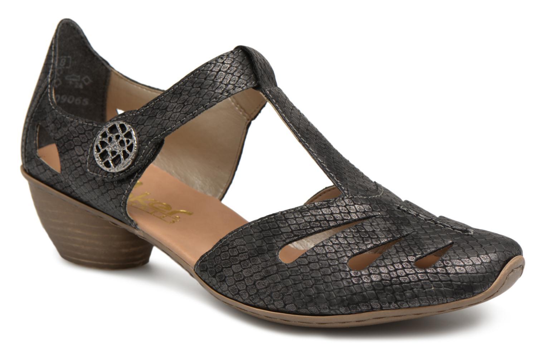 Zapatos promocionales Rieker Tiana 43750 (Negro) - Zapatos de tacón   Descuento de la marca