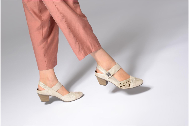 Grandes descuentos últimos zapatos Rieker Alanis 45176 (Oro y bronce) - Zapatos de tacón Descuento
