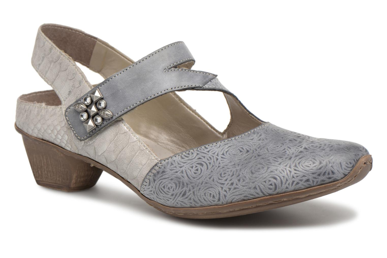 Zapatos promocionales Rieker Anaya 49770 (Gris) - Zapatos de tacón   Venta de liquidación de temporada