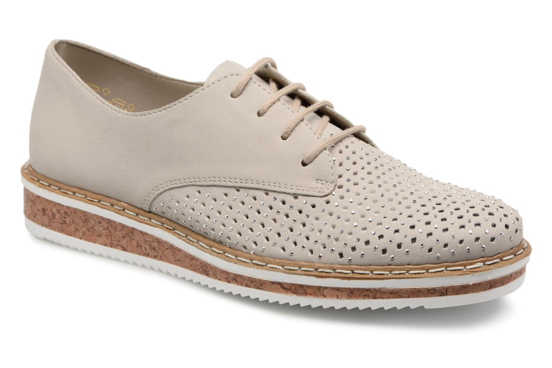 Grandes descuentos últimos zapatos Rieker Eleanoe N0357 (Gris) - Zapatos con cordones Descuento