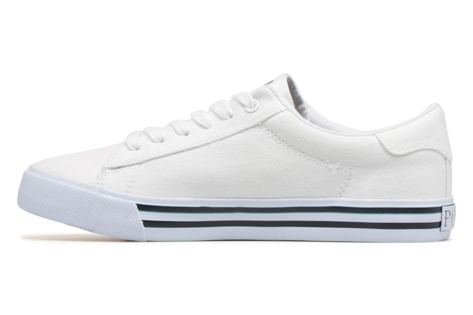 Trainers Polo Ralph Lauren Easten White front view