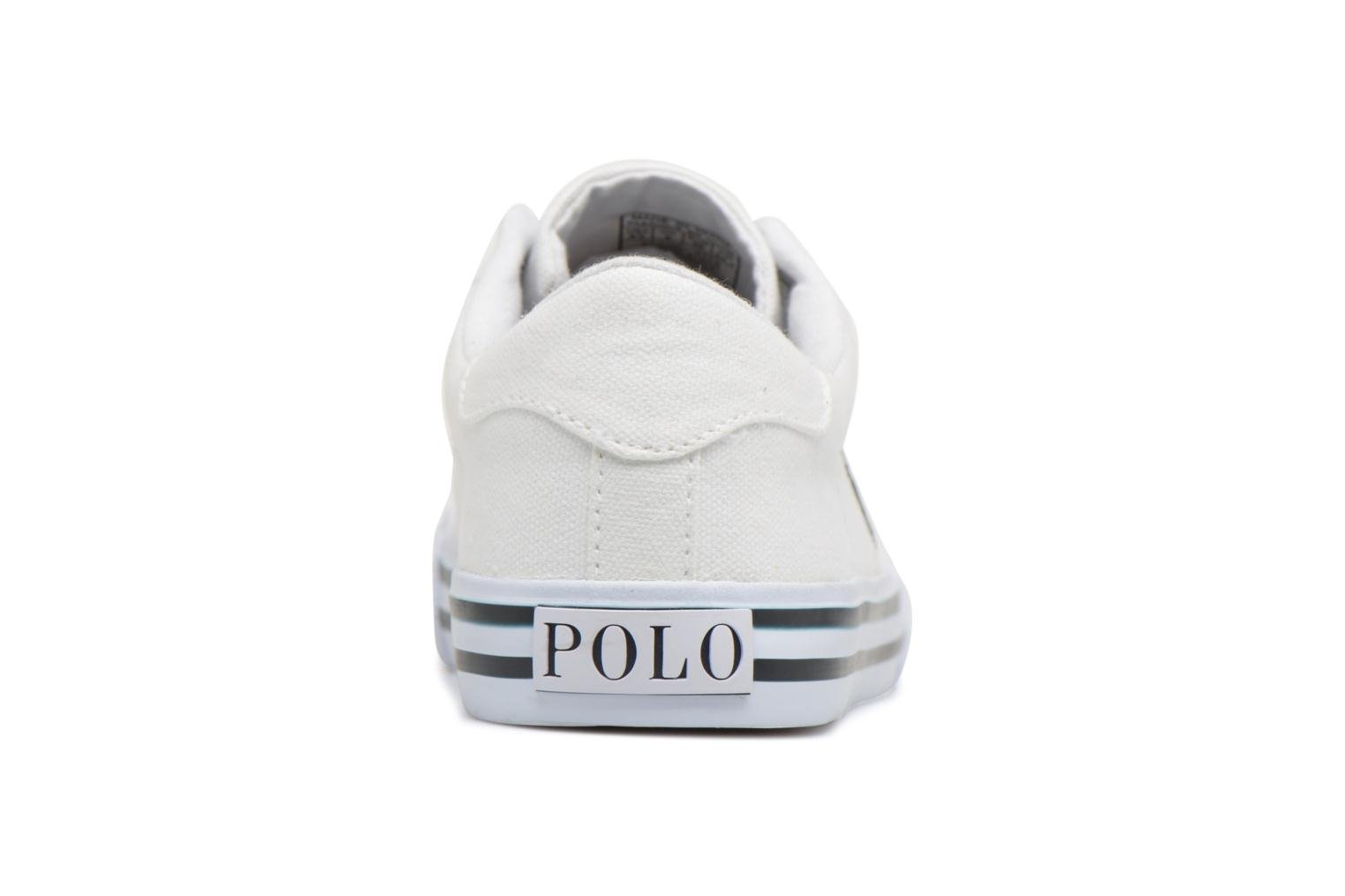 Trainers Polo Ralph Lauren Easten White view from the right