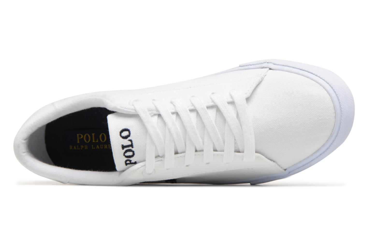 Trainers Polo Ralph Lauren Easten White view from the left