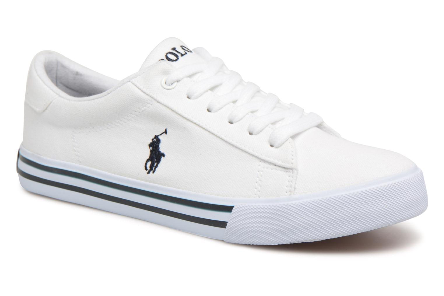 Trainers Polo Ralph Lauren Easten White detailed view/ Pair view