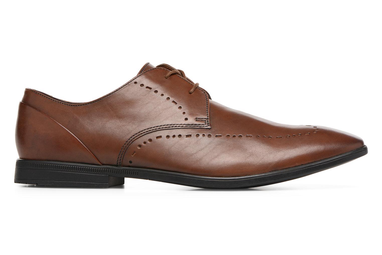Chaussures à lacets Clarks Bampton Limit Marron vue derrière