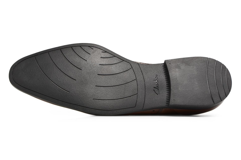 Chaussures à lacets Clarks Bampton Limit Marron vue haut