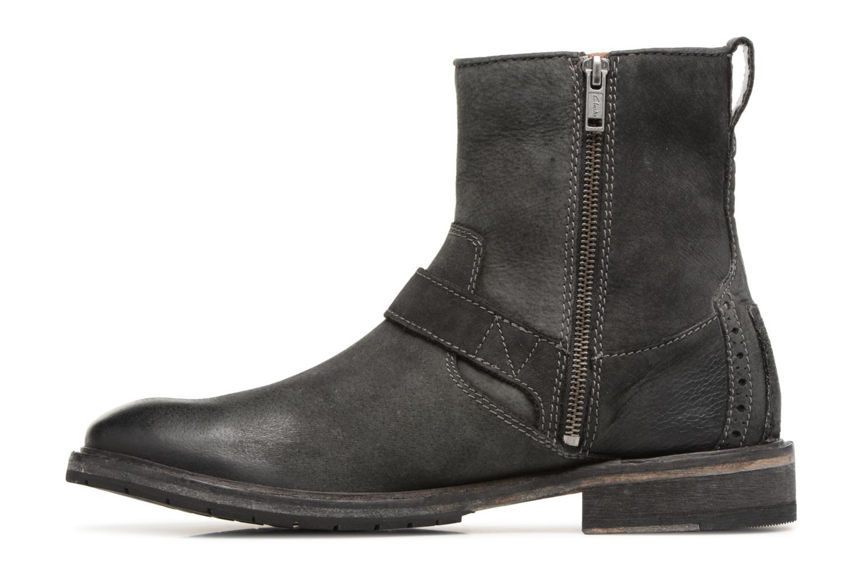 Bottines et boots Clarks Clarkdale Cash Noir vue face
