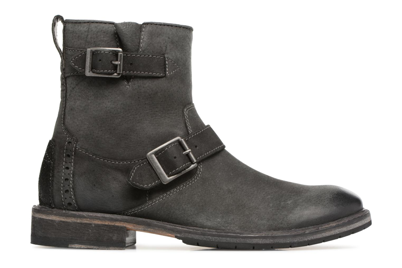 Bottines et boots Clarks Clarkdale Cash Noir vue derrière