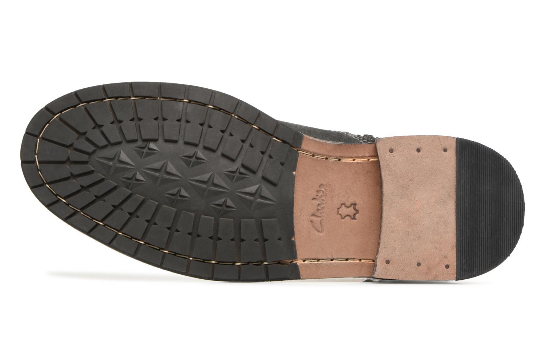 Bottines et boots Clarks Clarkdale Cash Noir vue haut