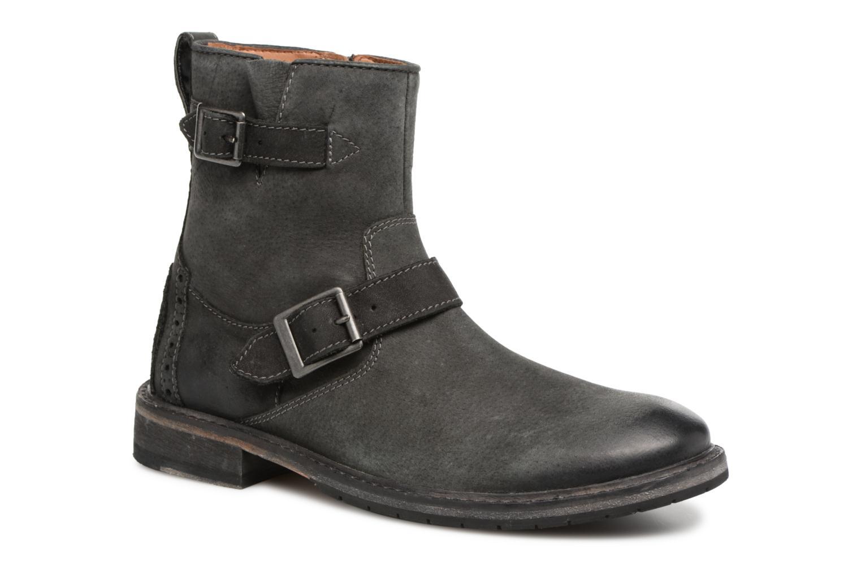 Bottines et boots Clarks Clarkdale Cash Noir vue détail/paire