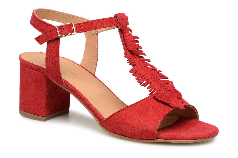 Cómodo y bien parecido Georgia Rose Lafoglia (Rojo) - Sandalias en Más cómodo