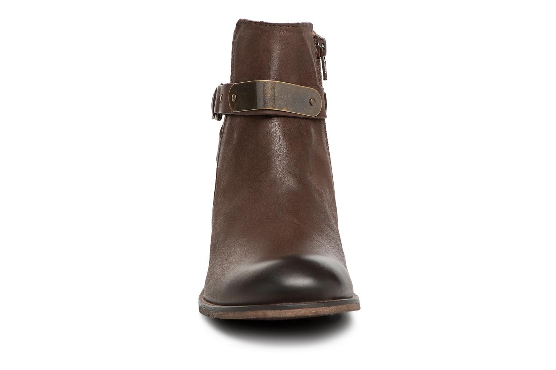 Bottines et boots Kickers PUNKING Marron vue portées chaussures