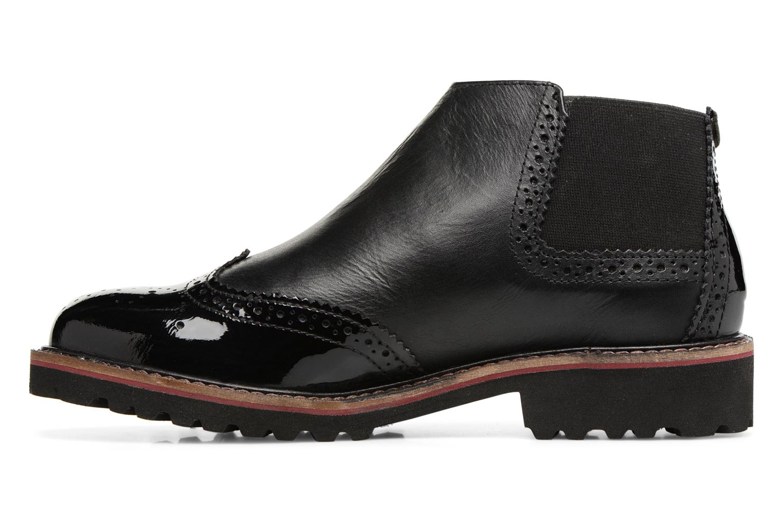 Bottines et boots Kickers RUSKY Noir vue face