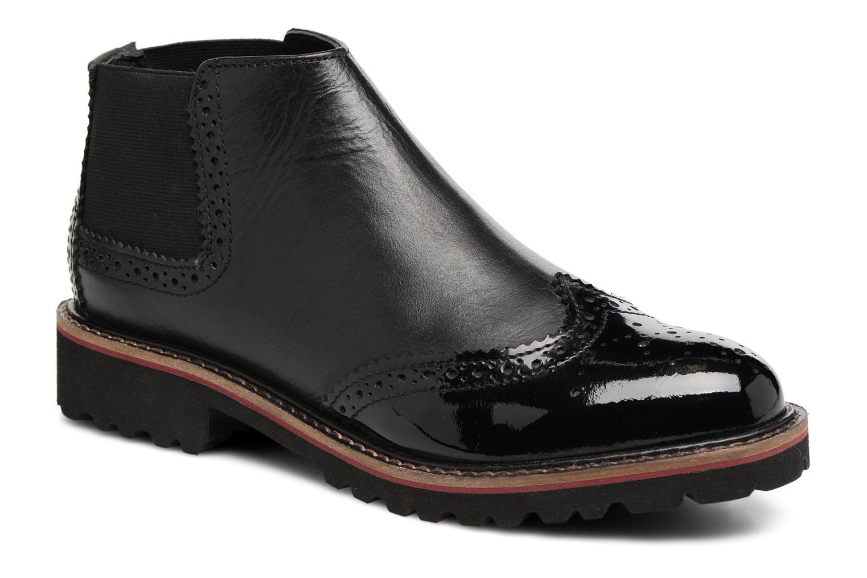 Bottines et boots Kickers RUSKY Noir vue détail/paire