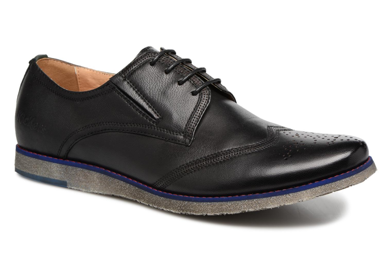 Chaussures à lacets Kickers BREDI Noir vue détail/paire