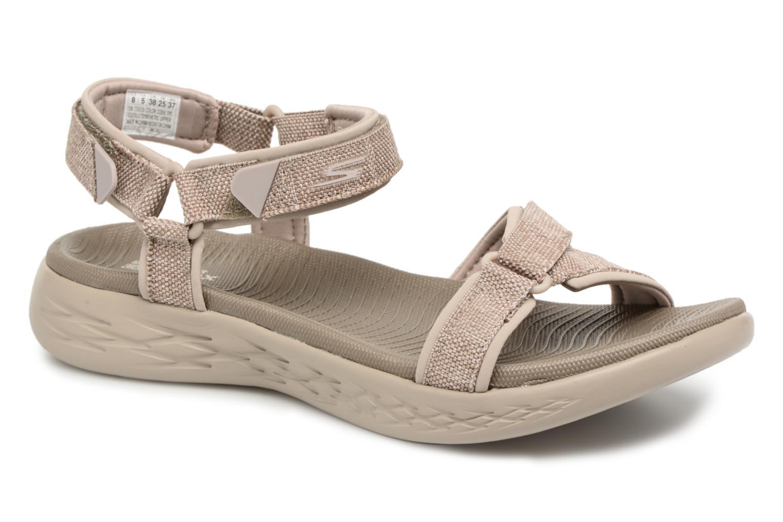 Zapatos promocionales Skechers On the Go 600 Radiant (Beige) - Sandalias   Gran descuento