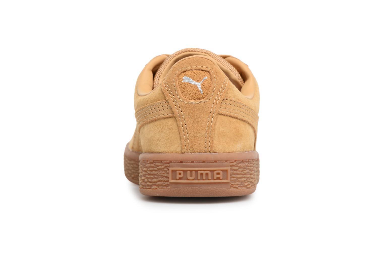 Baskets Puma PS BASKET CLASSIC WEATH Marron vue droite