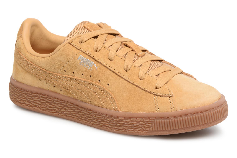 Baskets Puma PS BASKET CLASSIC WEATH Marron vue détail/paire