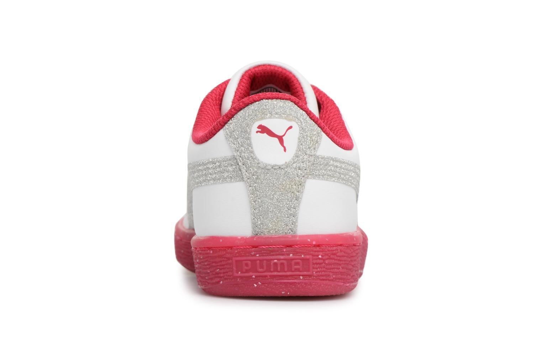 Sneaker Puma PS BASKET ICED GLITTER weiß ansicht von rechts