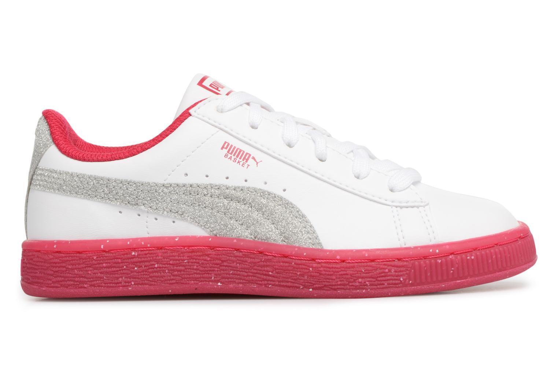 Sneaker Puma PS BASKET ICED GLITTER weiß ansicht von hinten