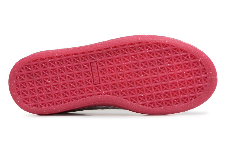 Sneaker Puma PS BASKET ICED GLITTER weiß ansicht von oben