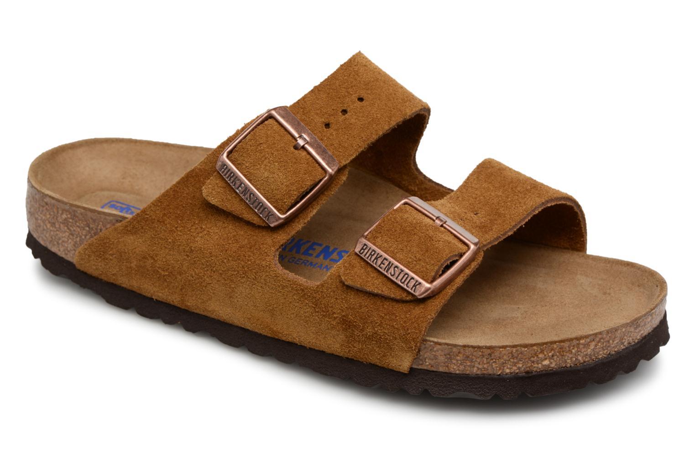 Zapatos promocionales Birkenstock Arizona Cuir Suede Soft Footbed W (Marrón) - Zuecos   Los zapatos más populares para hombres y mujeres